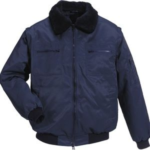 NEW Mens Small 34 / 36 Navy Blue Pilot Coat MASCOT